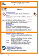 Muster-Betriebsanweisung für Gefahrstoffe