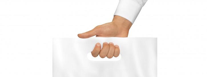 Die Verwendung von Plastiktüten soll reduziert werden.