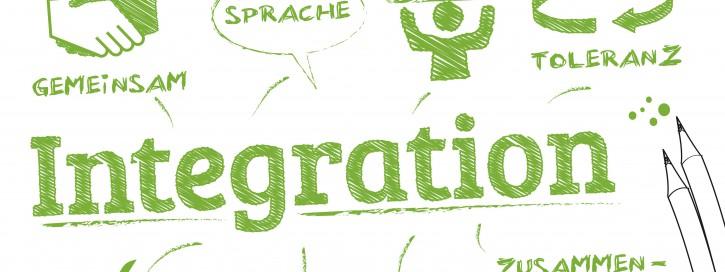 Integration, integrieren, Toleranz, Sprache, lernen, Flüchtlinge, Einwanderung,  Gemeinschaft, Kultur, Werte, global, Sprachförderung, Menschen, Migration, Migrant, Asyl, Politik, Identität,  Kompetenz,  Einbürgerung,  Ausländer, Gesellschaft, sozial, Soziologie, Prozess, eingliedern, teilhabe, Symbol, Wörter, Icon
