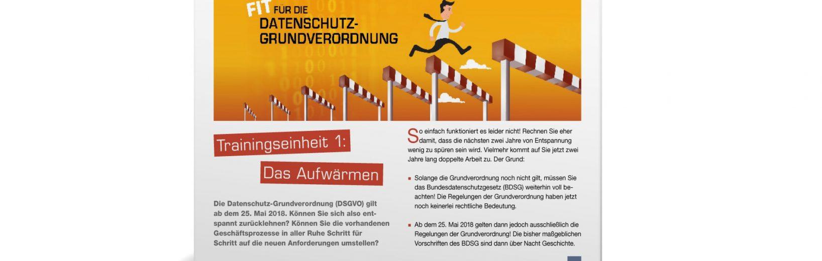 Trainingseinheiten zur DSGVO: ohne Juristen- und Admin-Deutsch