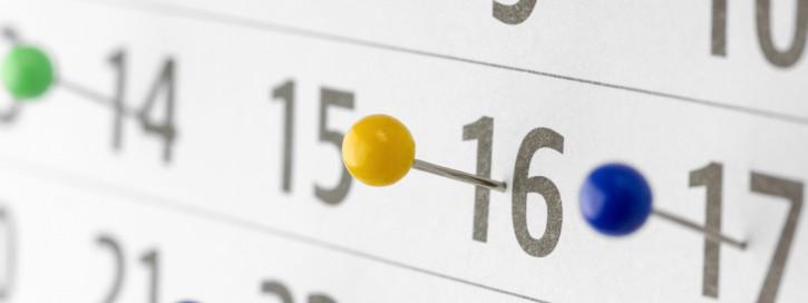 Wie Fristen richtig berechnet werden und was Termine und Fristen unterscheidet.