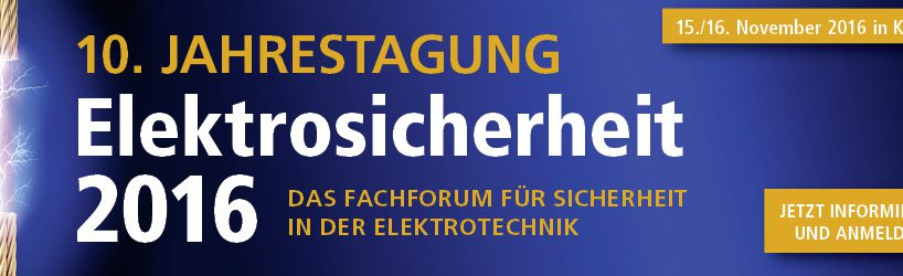 WEKA-Jahrestagung Elektrosicherheit