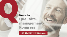 Deutscher Qualitätsmanagement-Kongress 2016
