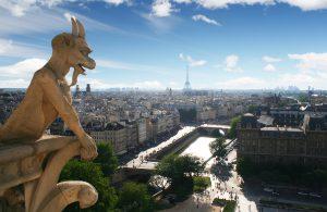 Wasserspeier auf der Kathedrale Notre Dame in Paris