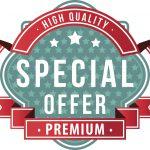 Werbeschild Special Offer