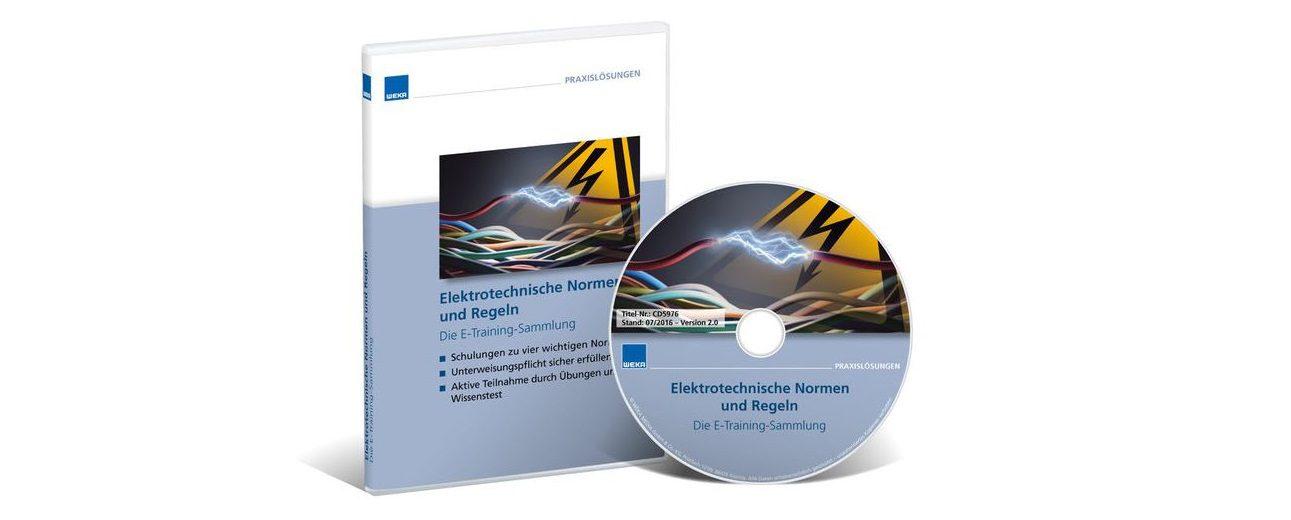 Die E-Training-Sammlung enthält mehrere abgeschlossene audiovisuelle Selbstschulungen.
