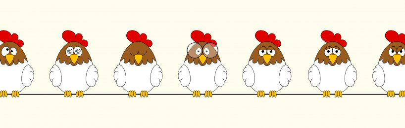 Verrückte Hühner