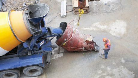 Wasserundurchlässiger WU-Beton