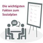 Strichmännchen verhandeln über Sozialplan