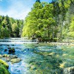 Sauberer Fluss
