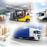 Warenlagerung und Gütertransport