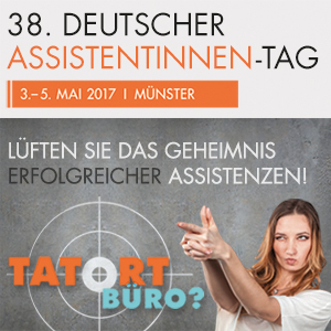 Tools und Techniken für effizienteres Arbeiten erhalten Assistentinnen und Sekretärinnen auf dem Deutschen Assistentinnen-Tag in Münster.