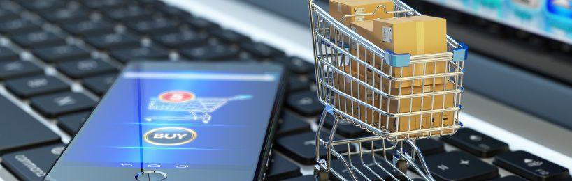 Moderner Online-Einkauf mit Inbound-Logistik