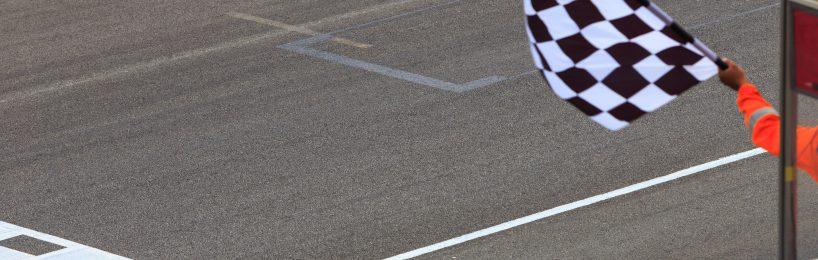 Zielfahne Motorsport