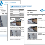 Baudokumentation Druckvorlage