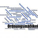 Ornungsmässigkeit - Verfahrensdokumentation