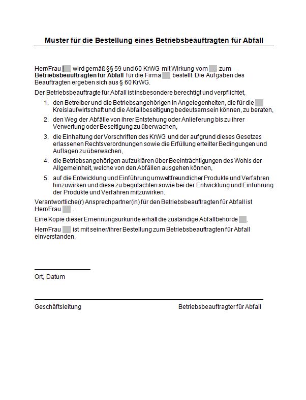 BESTELLUNG MUSTER PDF DOWNLOAD