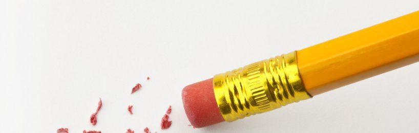 Bleistift Radierer