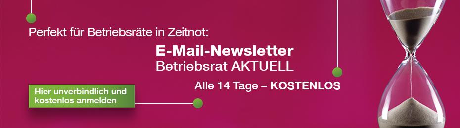 Gratis: E-Mail-Newsletter für Betriebsräte