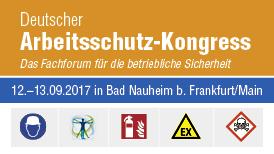 Deutscher Arbeitsschutz-Kongress 2017