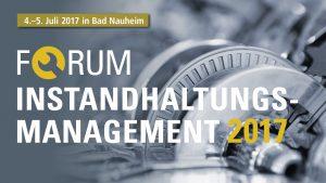 Forum Instandhaltung 2017