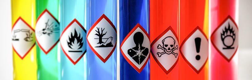 Piktogramme Gefahrstoffe