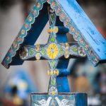 fröhlicher Friedhof in Rumänien