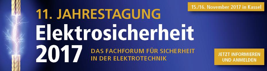 Jahrestagung Elektrosicherheit