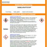 Muster-Betriebsanweisung Diesel