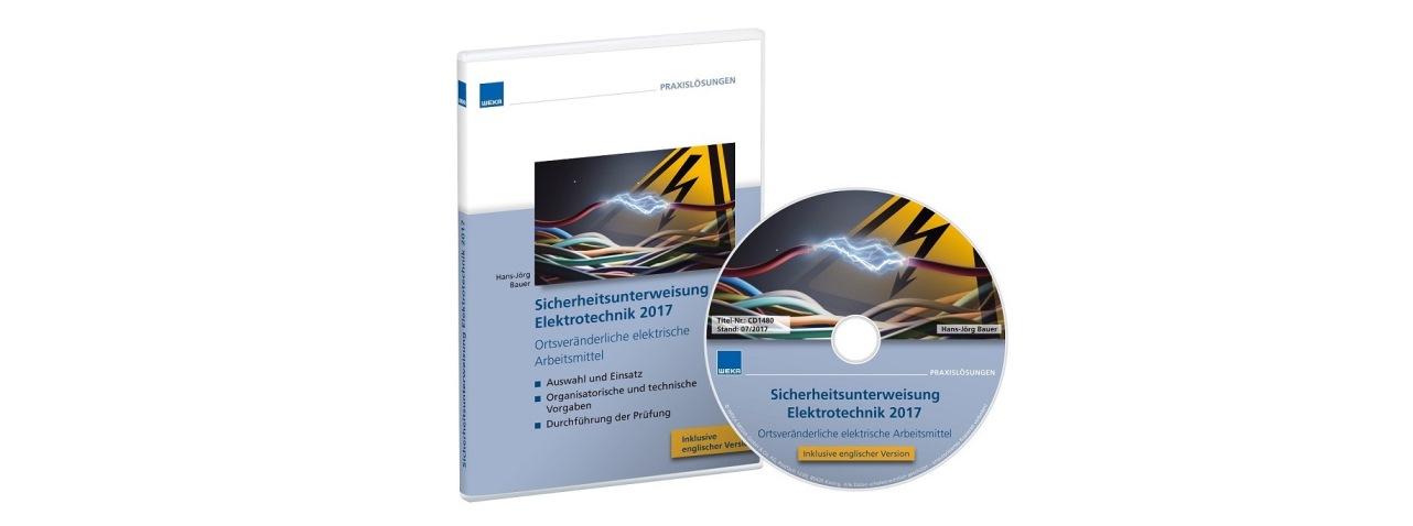 WEKA bietet jetzt eine englischsprachige Version der bewährten Sicherheitsunterweisung Elektrotechnik.