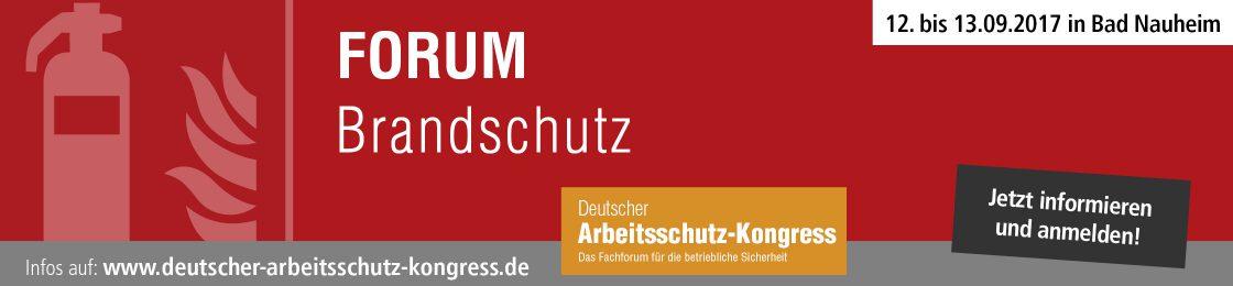 DAK Forum Brandschutz