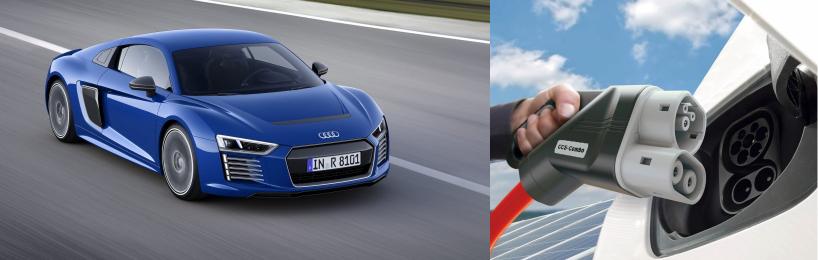 Neuer Audi mit Eletkroantrieb