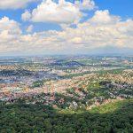 Industrieproduktion in Großstädten