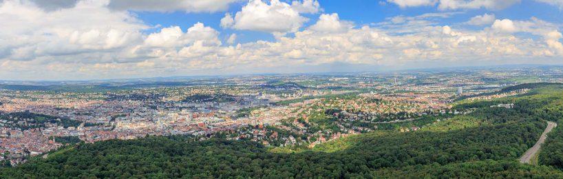 Bick auf Stuttgart