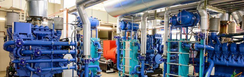 Notstrom-Dieselaggregat für Rechenzentrum