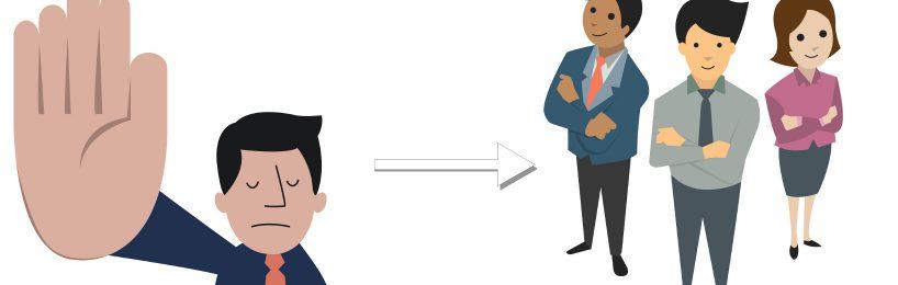 Internes Audit zufriedene Mitarbeiter