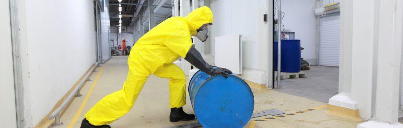 Arbeiten in kontaminierten Bereichen