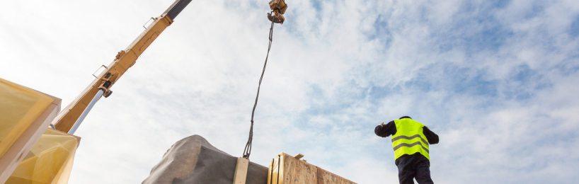 Arbeitsplatz auf Baustellen