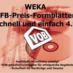 EFB-Preis-Formblätter jetzt direkt mit Daten aus WEKA Handwerksbüro PS erstellen