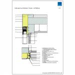 CAD-Musterdetail für den Hochbau
