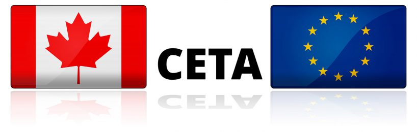 CETA-Abkommen mit Kanada in Kraft