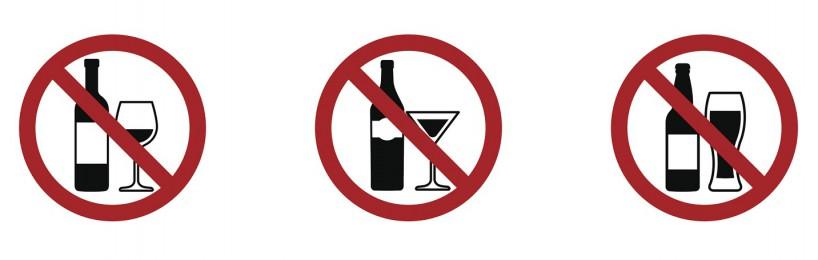 örtlich begrenztes Alkoholverbot