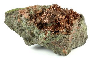 Gediegenes Kupfer aus Arizona/USA