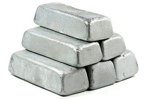 Zinkbarren - Industriemetalle