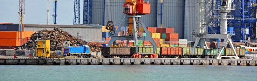 Schienengüterverkehr und Binnenschifffahrt