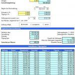 Annuitätenrechner als Excel-Tool