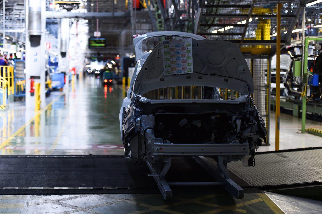 Automobilindustrie Produktion