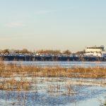 Schifffahrt wegen Hochwasser eingestellt