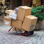 Paketdienst profitieren von boomendem Online-Handel