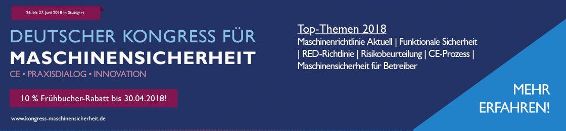 Deutscher Kongress für Maschinensicherheit